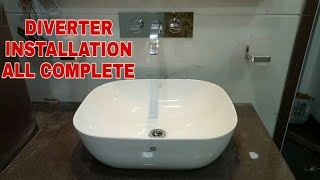 HOW TO INSTALL BASIN DIVERTER