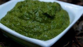 Raw Vegan Basil Pesto