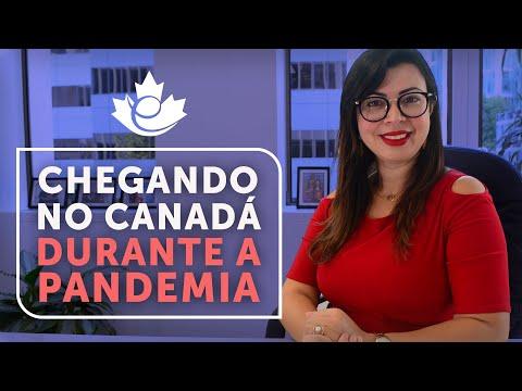 NOVIDADES SOBRE A CHEGADA AO CANADA DURANTE A PANDEMIA! MONTE SEU PLANO DE QUARENTENA!