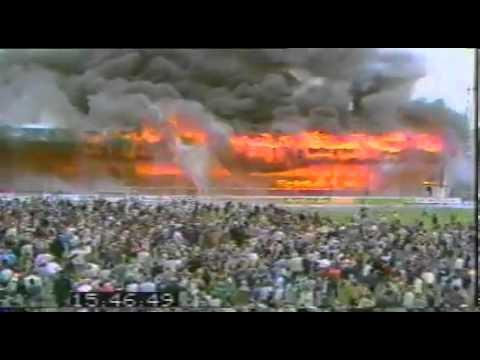 Bradford City Football Club Stadion Feuer/Fire! May 11th ...