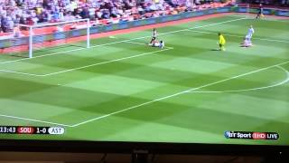 Video Gol Pertandingan Aston Villa vs Southampton