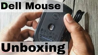 Dell MS116 1000DPI USB Wired Optical Mouse - Unboxing/Overview