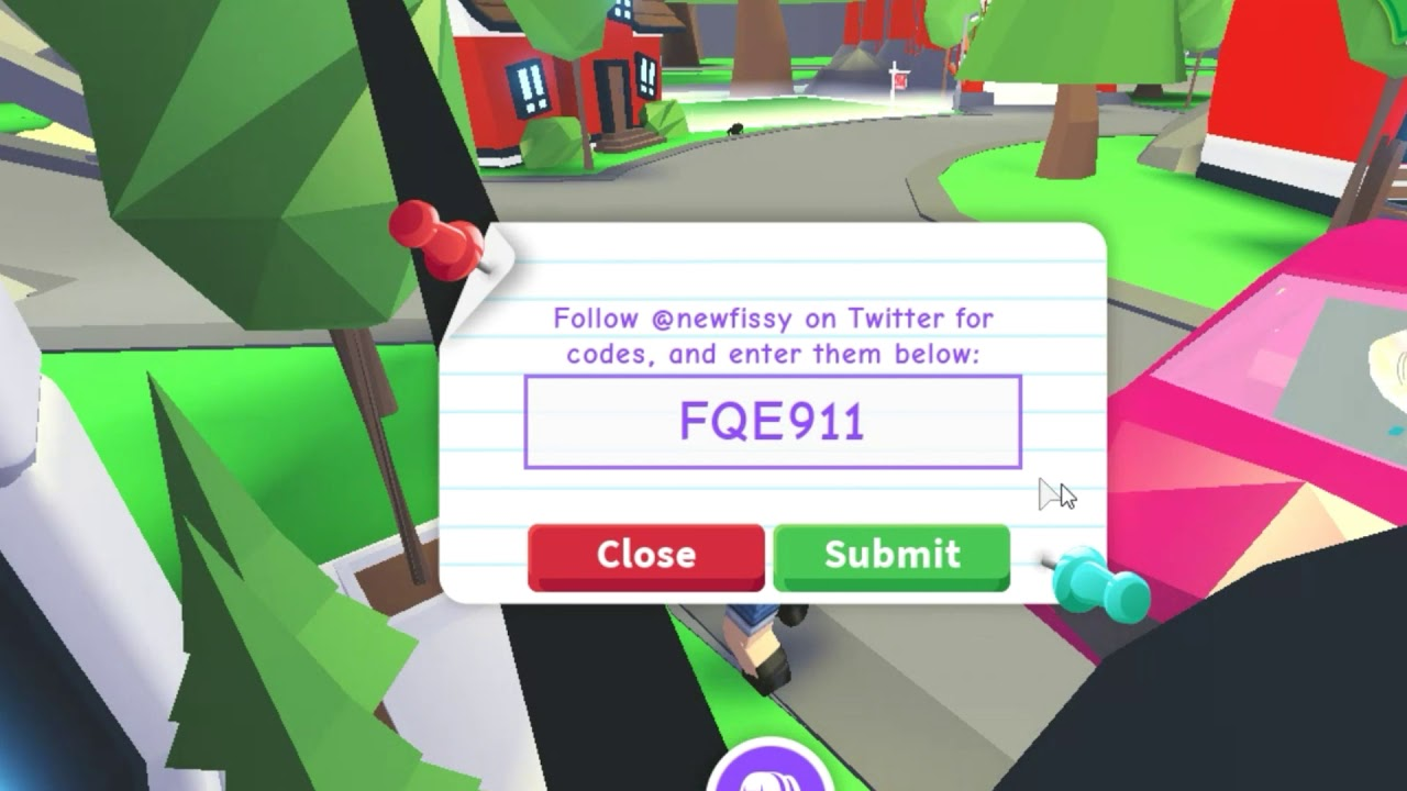 Adopt Me New Codes Free Legendary Eggs And Money Roblox