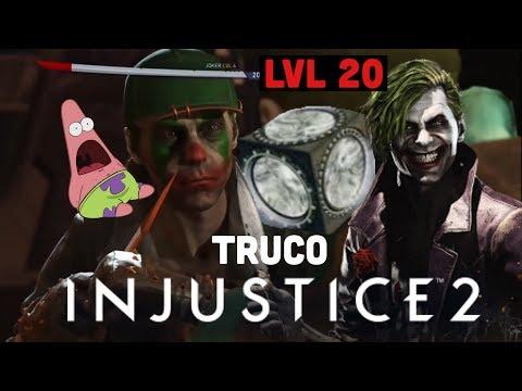 Como Subir Rápido De Nivel A Personajes En Injustice 2(truco No Hack Ni Glich)-Drg155