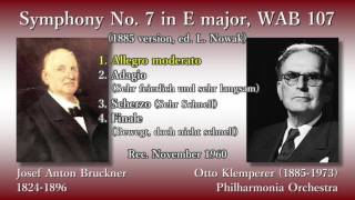 Bruckner: Symphony No. 7, Klemperer & The Phil (1960) ブルックナー 交響曲第7番 クレンペラー