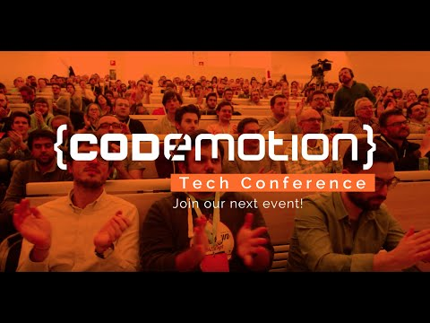 """Welcome to Codemotion!"" - Rome 2016 Tech Conference Reviews"
