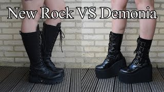 New Rock vs. Demonia Video