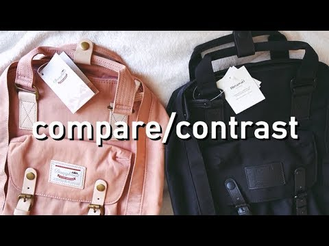 b5ec8f84ec doughnut macaroon vs. himawari backpack comparison - YouTube