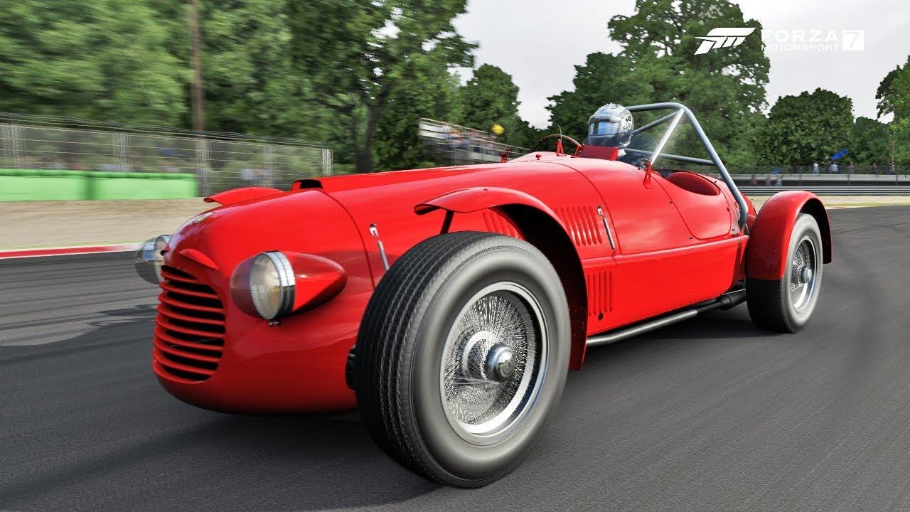 Forza Motorsport 7 1948 Ferrari 166 Inter Sport Test Drive Showcase Youtube