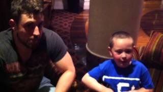 Joe Hendry interviews 8 year old Jack: Belfast's biggest wrestling fan (PWU)