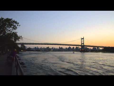 Triboro Bridge NYC - Timelapse