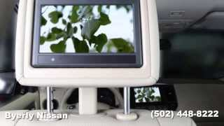 How to use the Dual Headrest DVD System on your 2014 Nissan Pathfinder from Byerly Nissan