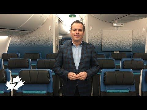 WestJet 787 Dreamliner cabin tour