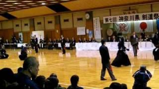 第7回 神奈川県剣道祭 五段の部.