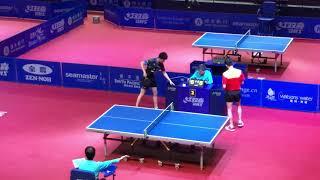 Lin yun ju (Tpe) vs Zhou yu (Chn) Men's singles round of 32| 2019 Hong Kong open game 5