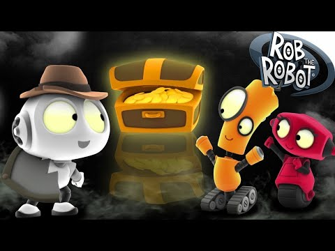 Detective Mystery | Rob The Robot | Toddler Learning Video
