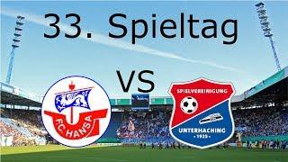 FC. Hansa Rostock - Unterhaching | Spieltag 33 | Rostocker Fankurve