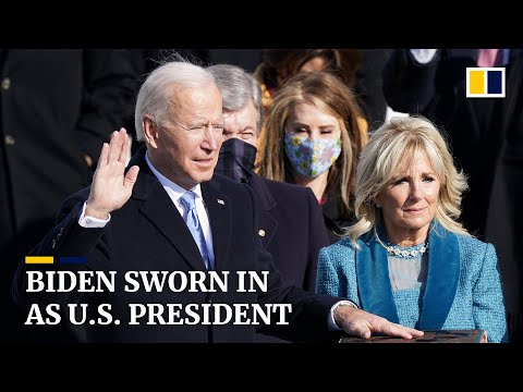 Joe Biden becomes 46th US president in scaled-down, socially-distanced inauguration