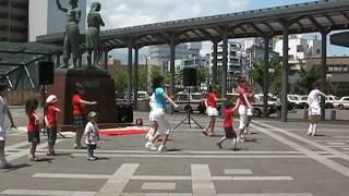 北東北デスティネーションキャンペーン(第2部) 弘前駅前.