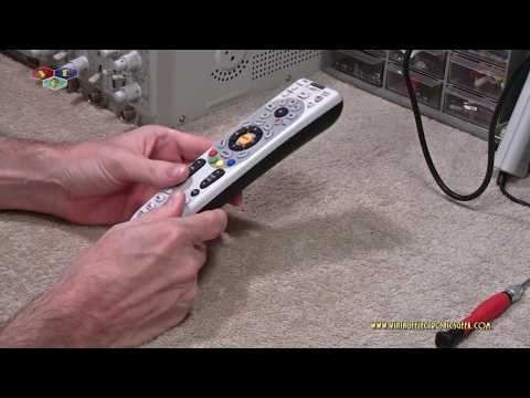 How To Open A DirecTV Remote Control
