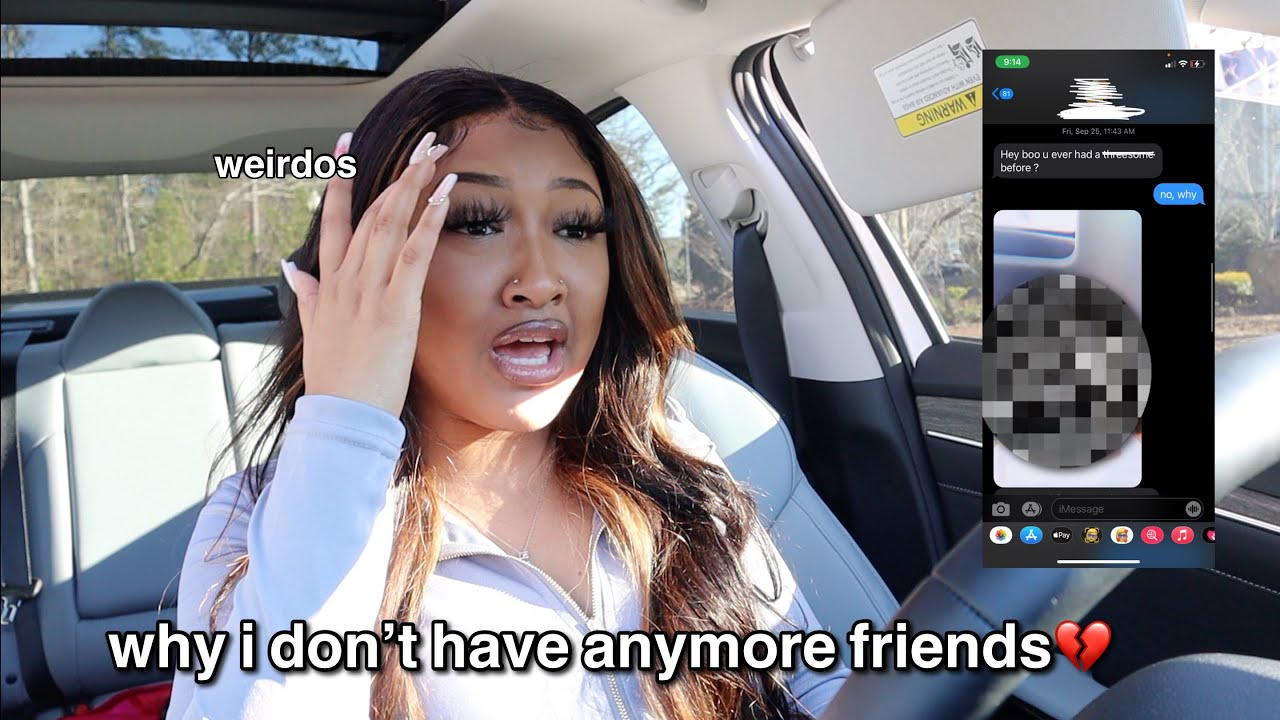 why I don't have anymore friends...💔 | Saria Raine