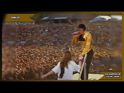 Michael Jackson - She's Out Of My Life - Live Oslo 1992 - HD