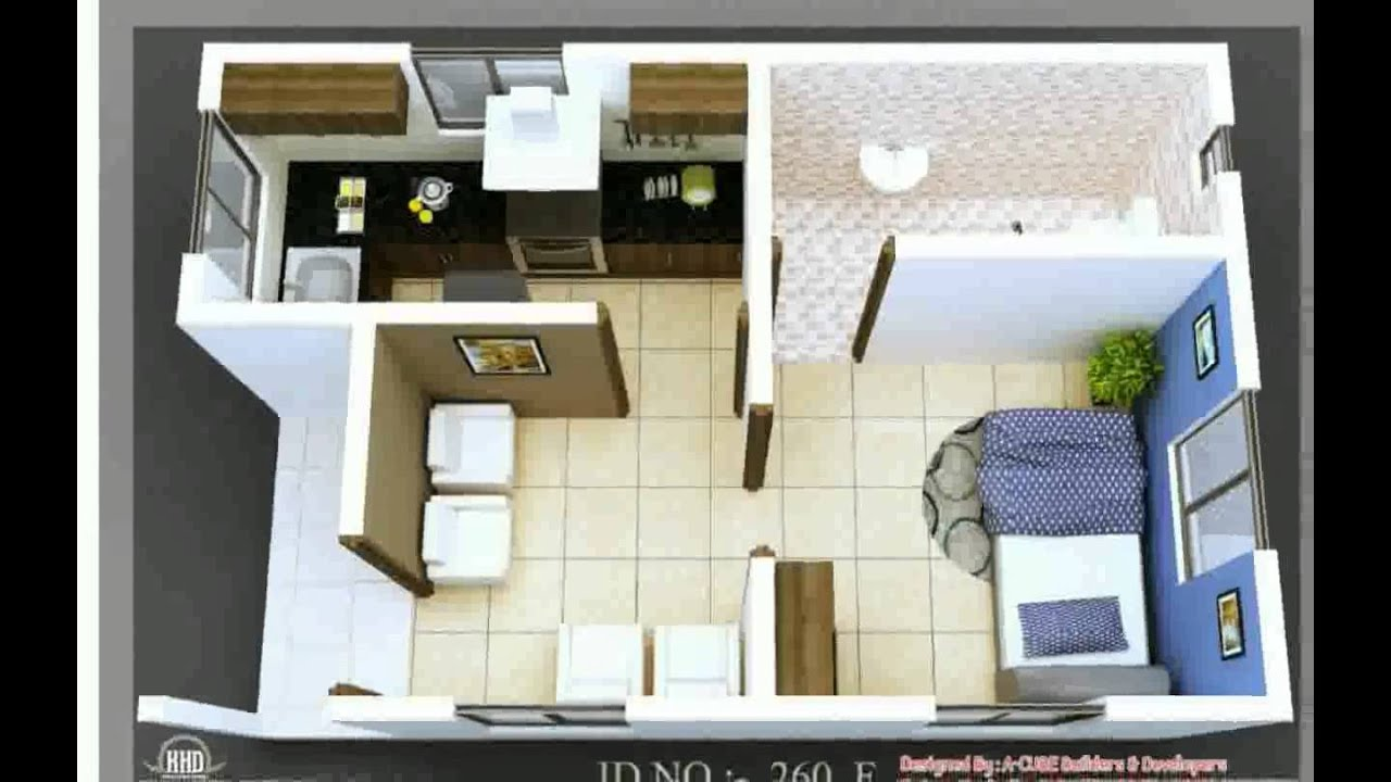 Small house design traciada youtube for Little home interior design