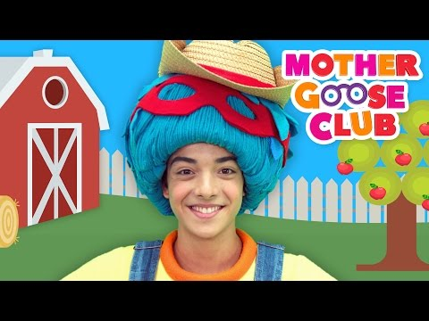 The Farmer in the Dell | Mother Goose Club Kids Karaoke