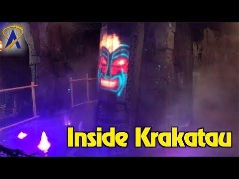 New interactive elements inside Krakatau at Universal's Volcano Bay water park