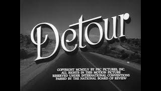 Detour 1945 Film noir