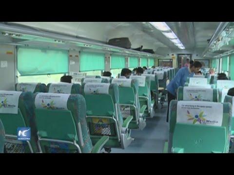 India lanza el tren más rápido del país