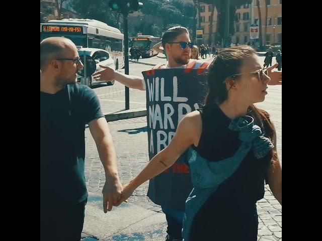 Friedrich in Rome #MarryABrit Volt Europe
