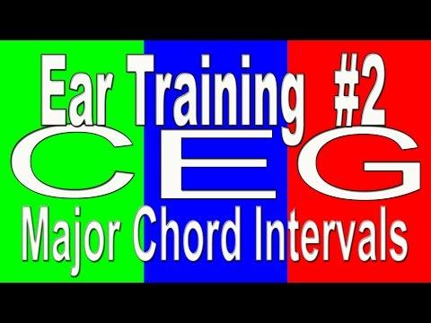 Ear Training #2 | Major Chord C E G | Ultimate Ear Training Method - Pitch Training - Level 2