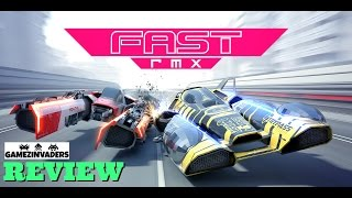 fast rmx nintendo switch game review like f zero and wipeout