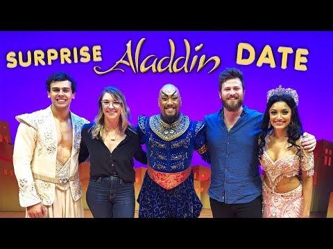 Best Boyfriend Ever? Surprise Aladdin Date!
