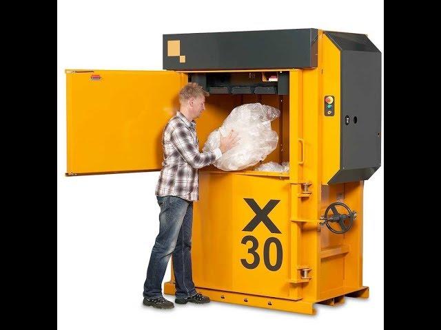 Presse verticali per cartone, plastica e carta (Serie-X Bramidan)