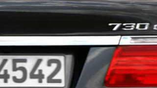 2009 BMW 7 Series F01 Exterior Views