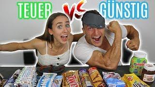 FAKE vs. ORIGINAL | Süßigkeiten Blind Testen mit Sascha Huber