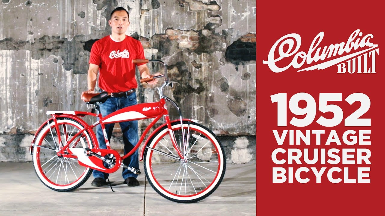Columbia Bicycles 1952 Vintage Cruiser Youtube
