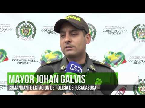 CAPTURADO ALIAS CALAVERA EN FUSAGASUGÁ