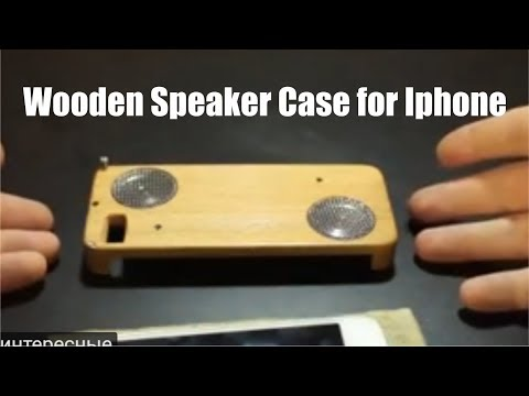 How to Make Bluetooth Speaker Wooden Case for Iphone