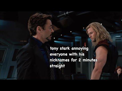 tony stark: nickname king