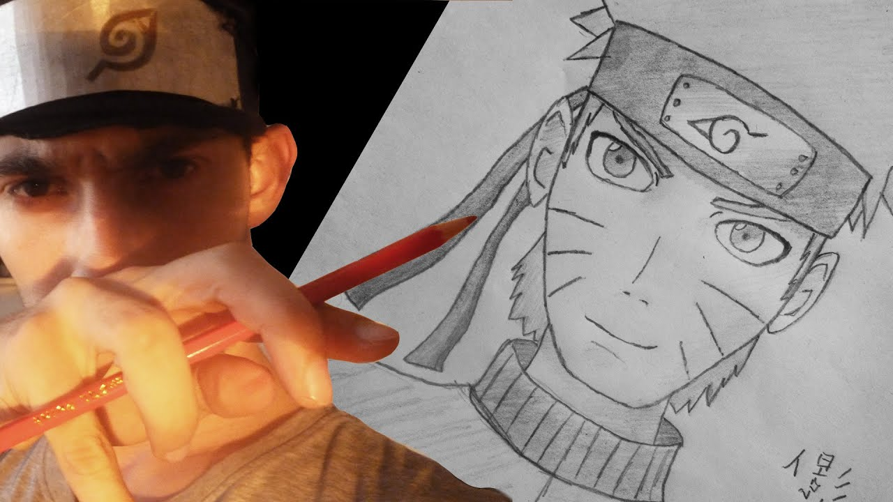Uzumaki Naruto Speed Draw (anime/manga) - Pencil - YouTube