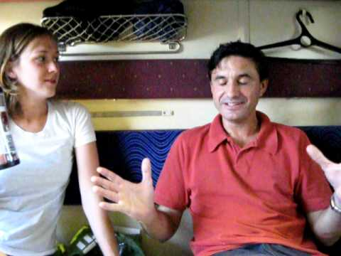 Interview with our cabin mate Ricardo