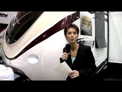 Premier by Bullet the first luxury ultra lite travel trailer