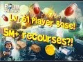Boom Beach INSANE Real Player Base Level 61 [5 Million Resources]