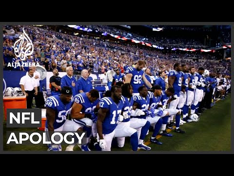 NFL Apology Over Treatment Of Players' Anti-racism Protests