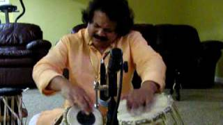 Pradip Ghosh - Solo Tabla Lesson - Dadra Taal