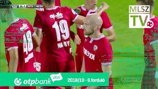Mihajlovic Branko gólja a Kisvárda Master Good - DVTK mérkőzésen