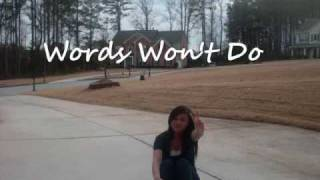 Watch August Rigo Words Wont Do video